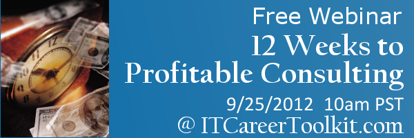 12 Weeks to Profitable Consulting
