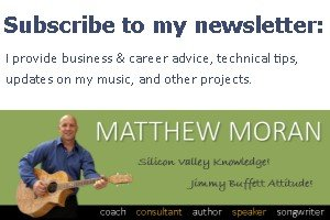 Get Matt's newsletter